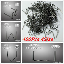 Multi-pack 400 Pre-cut Staples Hot Staples FOR PLASTIC STAPLER REPAIR KIT Welder