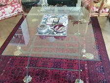 Handgearbeiteter spanischer Glastisch Tisch geschmiedet Glas edel