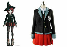Danganronpa V3: Killing Harmony Yumeno Himiko Cosplay Costume School Uniform hat