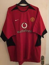 Manchester United Shirt 2002/04 XXL Home Nike