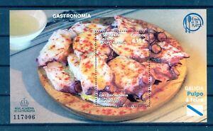 2021 Spain - Gastronomy : Galician Fair-Style Octopus  mnh