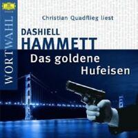 CHRISTIAN QUADFLIEG - DAS GOLDENE HUFEISEN  2 CD  8 TRACKS HÖRBUCH  NEW