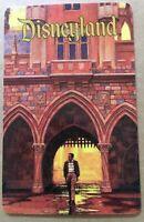 Disneyland ID CARD Walt Disney Footsteps 1997 Sleeping Beauty Castle Chas Boyer