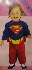 NEW Classic Supergirl Romper Baby Infant Costume Rubies Size 0-6 Months