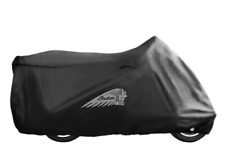 INDIAN MOTORCYCLE BLACK FULL ALL WEATHER LOGO COVER FOR 2019-2020 ROADMASTER IMC
