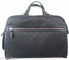 CESARE PACIOTTI SIGNATURE BLACK OVERNIGHTER BRIEFCASE COMPUTER NOTEBOOK BAG