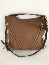 NWT Rebecca Minkoff Moto Hobo Bag- Luggage Brown Brick Color