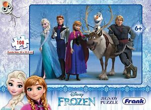 Frank Disney's Frozen Puzzle 11860 for 6 Year Old Kids and Above