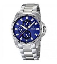 Polierte Festina Armbanduhren mit Chronograph für Erwachsene