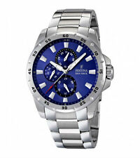Polierte Festina Armbanduhren aus Edelstahl für Herren
