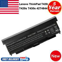 9 Cell Battery For Lenovo ThinkPad T420i T420s T430S 0A36287 42T4844 42T4845 PC