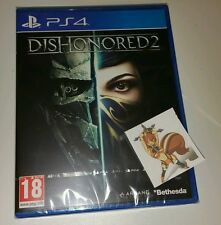 DISHONORED 2 PS4 New Sealed UK PAL Version Game Sony PlayStation 4 Dishonored