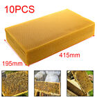 10 Sheets 195Mm*415Mm Natural Pure Beeswax Candlemaking Bee Wax Candle Crafts