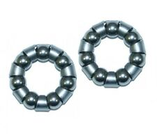 """Bike-Bicycle-Cycle 3/16"""" Caged Front Wheel Bearings"""
