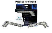 Renault LED Tagfahrlicht L-Form Curve-Design 12V 8 x SMD LEDs R87 Modul