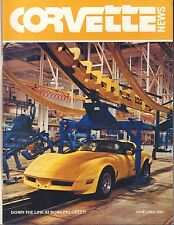 Corvette News june July 1981 Down The Line at bowling Green w/MC 080817nonDBE