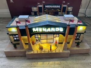 ENCHANTED FOREST 2011 MENARDS COLLECTIBLE STORE LIGHTS & SOUNDS-WORKS GREAT!