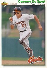 316 DAVID SEGUI BALTIMORE ORIOLES BASEBALL CARD UPPER DECK 1992