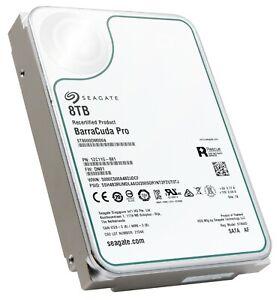 "Seagate BarraCuda Pro 8TB SATA 6.0Gb/s 256MB Cache 3.5"" HDD — ST8000DM0004"