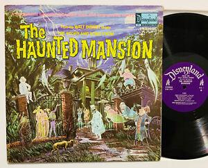'69 DISNEY the HAUNTED MANSION VG+ Vinyl LP w/book halloween 3947 ron howard OP