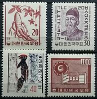 South Korea>1961>Full Set, Original Gum, perf.12.1/2>National Symbols.
