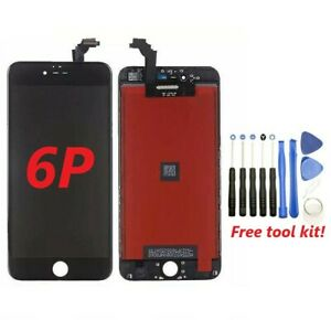 For iPhone 6 Plus Black LCD Display Touch Screen Digitizer Assembly Replacement