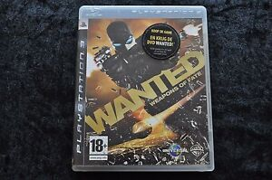 Wanted Weapons Of Fate Playstation 3 PS3