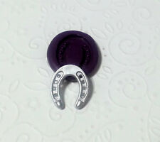 Silicone Mold Miniature Horse Shoe (19mm) Dollhouse Jewelry PMC Clay Fimo Premo