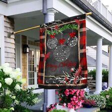 Merry Christmas Flag Deco House Flag, Wall Flag, Garden Flag