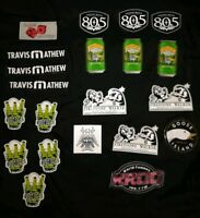 New Travis Mathew and Beer Stickers Decal Sticker TM Dice 805 Firestone $5 each.