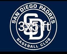 San Diego Padres 3x5ft 2 grommet souvenir flag/banner