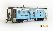 "Tangent (HO) CHESSIE/B&O I-18 Bay Window Caboose #C-3035 NIB RTR ""LIGHTED"""