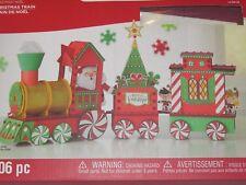 Creatology Foam Shapes 3D Structure Christmas Train Santa Elf Kids Craft 106 Pc