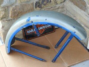 Vintage Harley Davidson Ironhead Front Fender