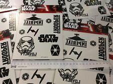 Disney Star Wars Stationery Set A6 Spiral Notebook 2 Packs Temporary Tattoos