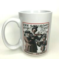 """Sherwood Coffee Mug The Saturday Evening Post Norman Rockwell Cup 2006 4""""T C14"""