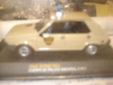 1/43 seat ritmo 1981 cuerpo de policia national 1/43