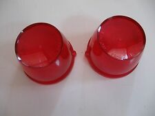 1963 FAIRLANE tail light lenses. (EXCEPT 500)  PAIR! GLO-BRITE. NEW!