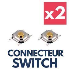 2x Switch Bouton Poussoir Télécommande Clé Carte RENAULT Laguna Espace Megane