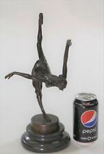 Bronze Nude Female Lost Wax Bronze Sculpture Statue by Vitaleh Figurine Figure