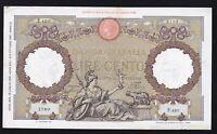 ITALY ------- 100  LIRE  1939 ----- VERY NICE ------