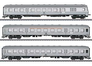 "Märklin H0 43897-S Nahverkehrswagen-Set ""Silberlinge"" der DB - NEU + OVP"