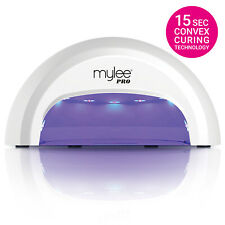 Mylee PRO Convex™ WHITE Nail Dryer LED Lamp FAST Gel Manicure Curing w Timer NEW