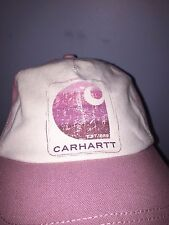 Carhartt WomensBaseball Hat/ Cap Pink  Hat One Size Fits All   New With Tags