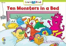 NEW - Ten Monsters in a Bed (Learn to Read Math Series)
