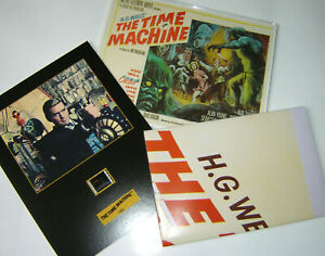 """THE TIME MACHINE"" - Movie Poster / Full set of Lobby Cards / Mounted Film Cell"
