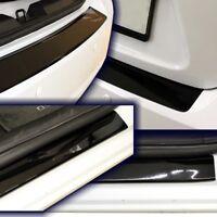 SEAT LEON 3 ST-Kombi SparSet Ladekantenschutz Einstiegsleiste Schwarz-Glanz A1