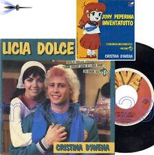 "CRISTINA D'AVENA ""LICIA DOLCE LICIA"" RARO 45GIRI SIGLA TV - MINT"