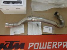 NUOVO!!! Akrapovic Titanio curva KTM EXC 450 500 curva di scarico HUSQVARNA FE 501