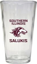 Southern Illinois Salukis Pint Glass Set-Ncaa 16oz Beer Glass 3 Pack